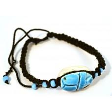 Браслет «Бело-голубой камень»
