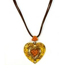 Колье «Золотое сердце»