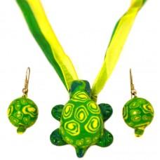 Комплект украшений «Веселая черепашка»