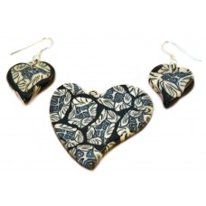 Комплект украшений «Мелодия сердца»