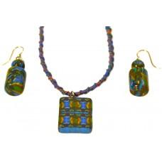 Комплект украшений «Мозаичный узор»