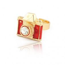 Безразмерное винтажное кольцо «Фотоаппарат»