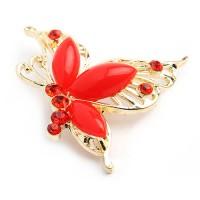 Брошь «Летящая бабочка»