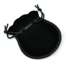 Мешочек подарочный фланелевый «Черный»