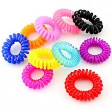 Разноцветные резинки для волос «Радуга»
